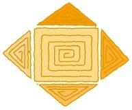 Ureinwohnersymbol Lizenzfreie Stockbilder