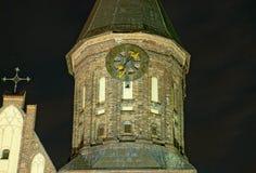 Uren op de Kathedraal Stock Fotografie