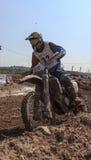 24 uren van weerstandsmotorfietsen. Lliça D'Amunt Stock Fotografie