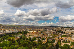 Urfa cityscape from. Photo of a Urfa taken from the city castle Stock Image