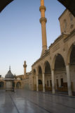 Urfa - Halil-ur-Rahman Mosque at dusk, Turkey Stock Photo