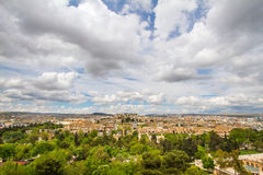Urfa scenery from the. Photo of a Urfa taken from the city castle Royalty Free Stock Photos