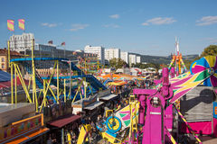 Urfahraner fair in linz, austria Stock Photos