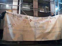 Urgence pour libérer Ravi- 11 janvier 2018 - nouvel York NY LES Etats-Unis Image libre de droits