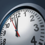 Urgency clock symbol Stock Images