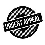 Urgent Appeal rubber stamp Stock Photography