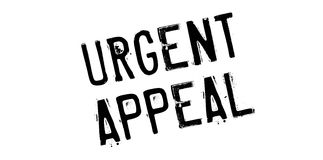 Urgent Appeal rubber stamp Royalty Free Stock Image