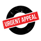 Urgent Appeal rubber stamp Royalty Free Stock Images
