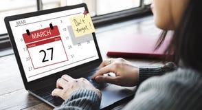 Urgent Calendar Plan Planning Organizer Concept Royalty Free Stock Photography