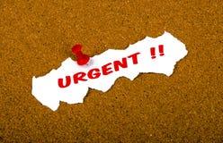Urgent Stock Image