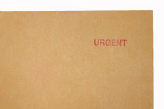 Urgent document Royalty Free Stock Images