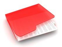 Urgent folder Stock Photos