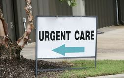 Urgent Medical Care. Urgent Care serves patients that have immediate and emergency medical needs royalty free stock images