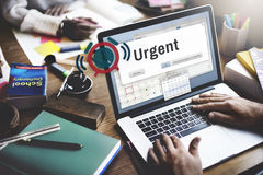 Urgent Necessary Important Immediately Urgency Priority Concept royalty free stock images