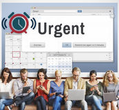 Urgent Necessary Important Immediately Urgency Priority Concept stock photography