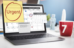 Urgent Prioritize Focus Urgency Importance Concept Royalty Free Stock Photos