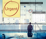 Urgent Prioritize Focus Urgency Importance Concept. Business People Prioritize Schedule Urgency Importance Royalty Free Stock Photo