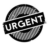 Urgent rubber stamp Royalty Free Stock Photography