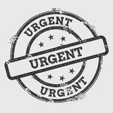 Urgent rubber stamp isolated on white background. vector illustration