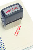 Urgent Stamp Royalty Free Stock Image