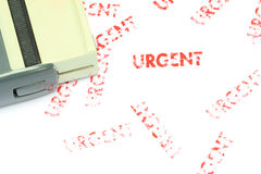 Urgent Stamp Royalty Free Stock Images