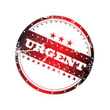 Urgent stamp Royalty Free Stock Photography
