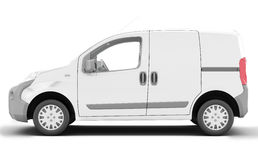 Urgent van to transport goods. Royalty Free Stock Image