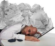 Urgente dai documenti della burocrazia Immagini Stock