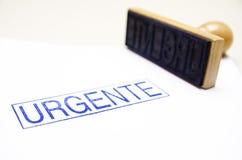 Urgente! Stock Image