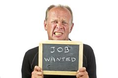 Urgently job wanted Royalty Free Stock Image