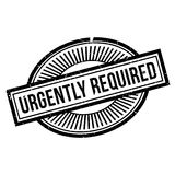Urgently Required rubber stamp Royalty Free Stock Image