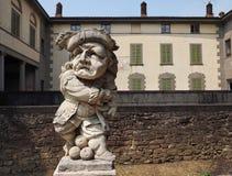 Urgnano, Bergamo, 27 kan 2018: Historisch kasteel van Urgnano, Bergamo, Italië stock foto's