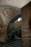 Urgnano fästning - BG - Italien Arkivbilder