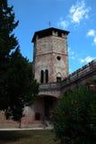 Urgnano fästning - BG - Italien Arkivfoton