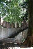 Urgnano fästning - BG - Italien Arkivbild