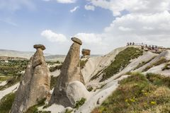 Three Graces are the brilliant three fairy chimneys located on Urgup, district of Nevsehir. It