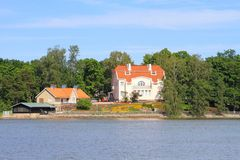 Urho Kekkonen Mseum, Helsínquia/Finlandia imagem de stock royalty free