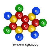 Uric Acid Royalty Free Stock Image