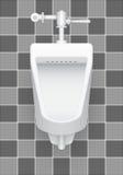urinal Stockfoto