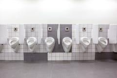 Urinal auf der Wand Stockbilder