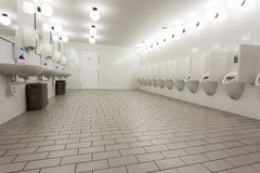 Urinal and skin Royalty Free Stock Image