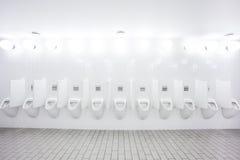 Urinal sur le mur Image stock