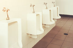 Urinal Tile Wall Royalty Free Stock Photography