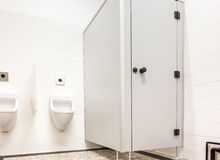 Urinal and toilet stock images