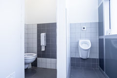 Urinal and toilet Stock Photography
