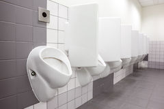 Urinal on the wall Royalty Free Stock Photography
