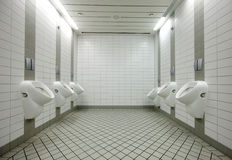 urinals туалета Стоковая Фотография