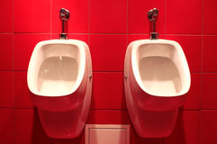 Urinals Stockbild