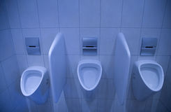 Urinals Royalty Free Stock Photo