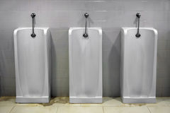 Urinals Stock Images